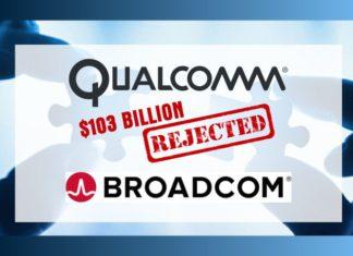 Qualcomm to reject Broadcom's $103 billion offer