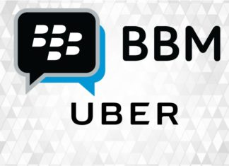 Uber announces it has joined forces with BBM Messenger