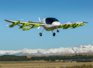 Cora the New Flying Taxi from a start-up Funded by Google's Larry Page
