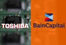 Bain to assist Toshiba Memory Corp in acquiring the chip sector