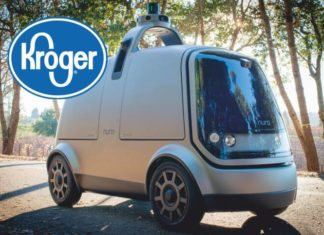 Nuro Partners with Kroger for driverless grocery services..