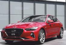 Top-ranked automotive brand Genesis revealed G70 sedan car