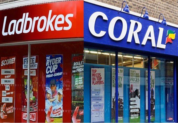 Ladbrokes Coral could cost over 1600 jobs