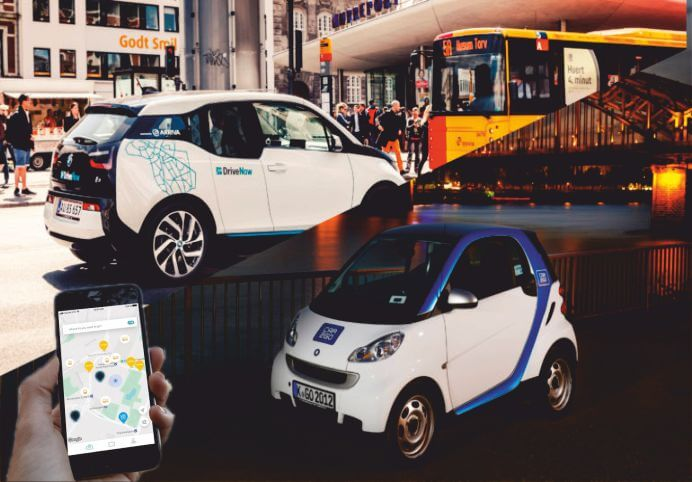 Bmw Group To Merge With Daimler Ag For The Mobility Service
