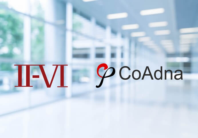 II-VI to acquire CoAdna Holdings