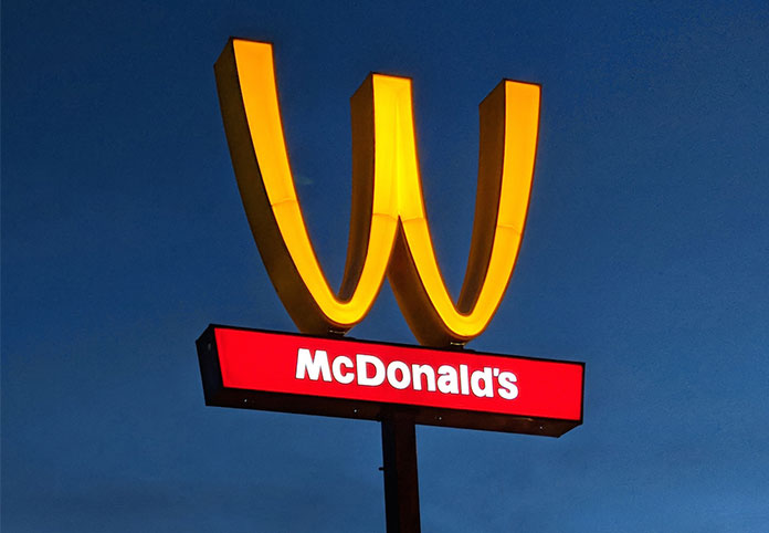 McDonald's is Celebrating International Women's Day by flipping its Arches for a Day