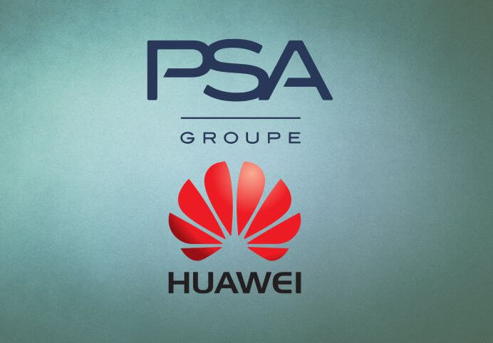 Groupe PSA and Huawei unveil connected vehicle platform
