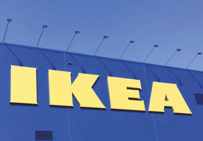 IKEA takes an oath to use only renewable and recycled materials
