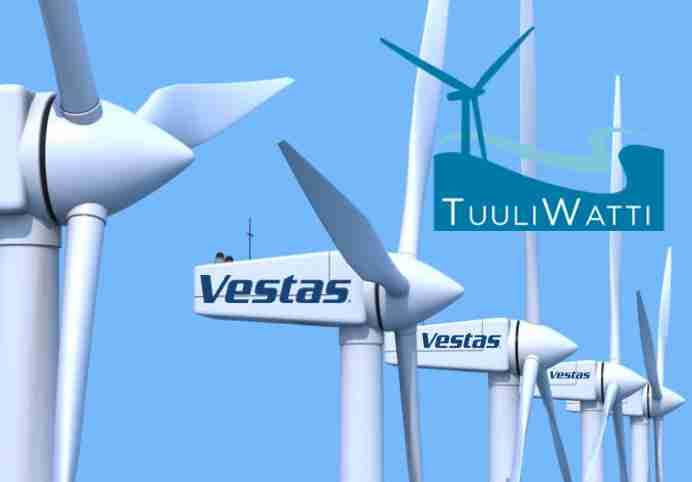 Vestas partners with TuuliWatti Oy