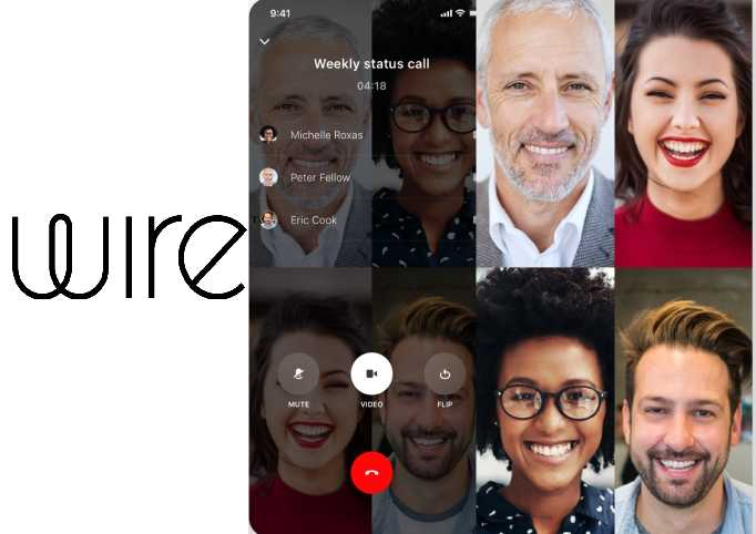 First end-to-end encrypted video conferencing service introduced by Wire