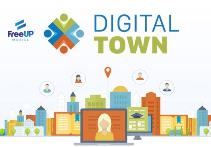 DigitalTown, Inc  partners FreeUP Mobile | Mirror Review