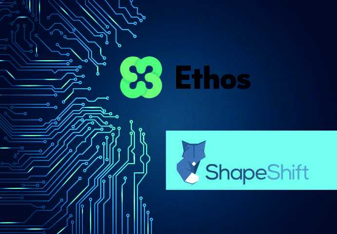 Ethos Teams up with ShapeShift to Deepen Liquidity and Advance Enterprise Cryptocurrency Exchange