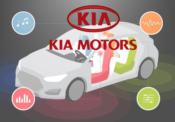 Kia Motors showcase the advanced Separated Sound Zone Technology