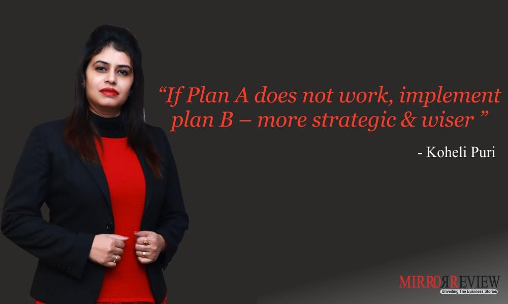 Koheli Puri is the Founder & Managing Director of STUDIO XP Management Consultants Pvt. Ltd.