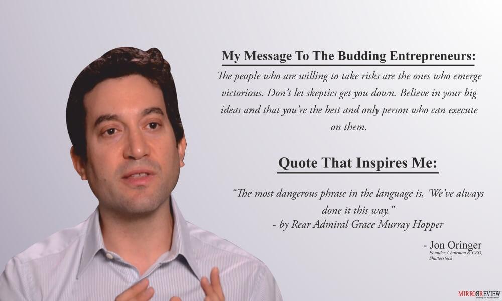 Jon Oringer quotes