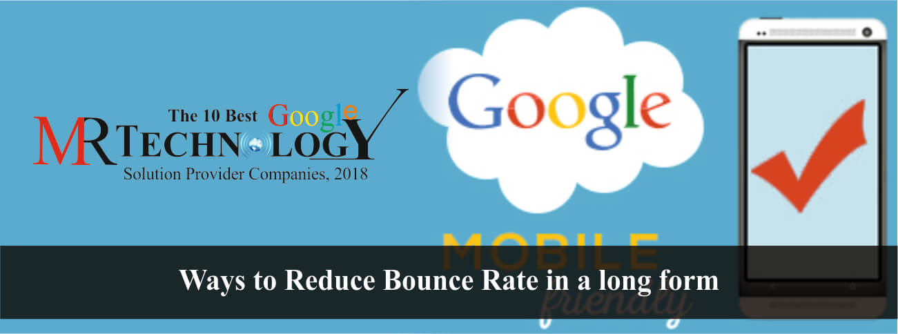 Reduce bounce rate in long form
