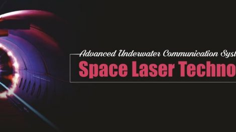 Advanced Underwater Communication System Using Space Laser Technology