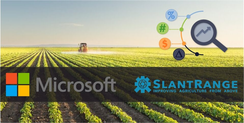 Microsoft SlantRange collaboration