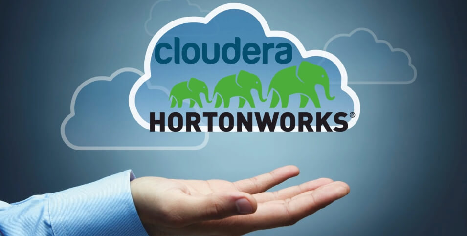 Rivals Cloudera and Hortonworks merged in a deal valued at