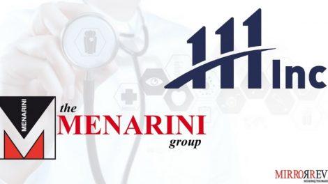 111, Inc. teams up with A. Menarini China Holding Co., Ltd