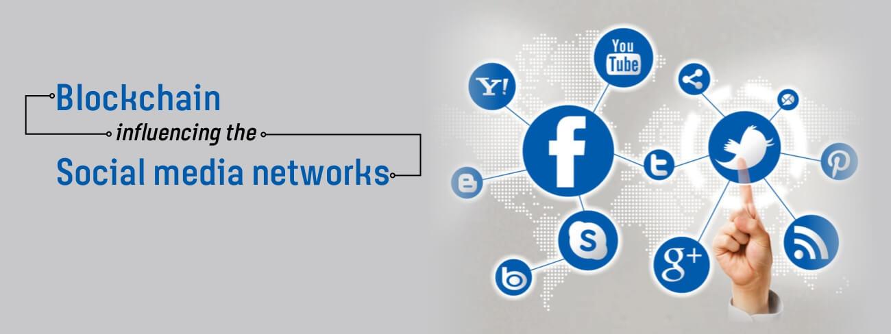 Blockchain influencing social media