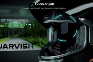 JARVISH unveils digital motorcycle helmets