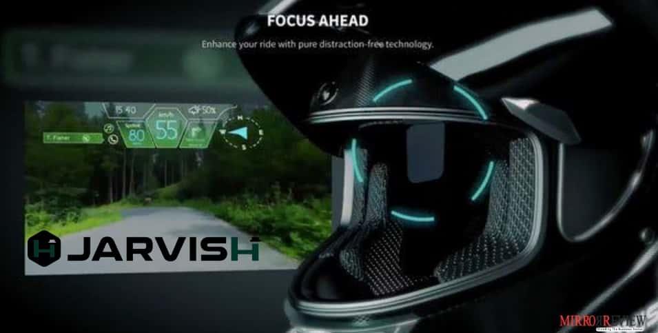 JARVISH unveils digital motorcycle helmets