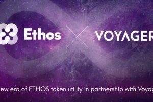 Ethos to Offer Cashback to ETHOS Token Holders that Trade on Voyager Platform