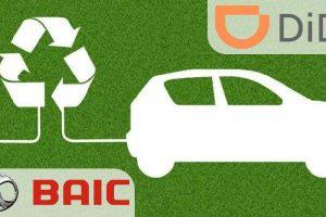 DiDi BAIC Joint venture
