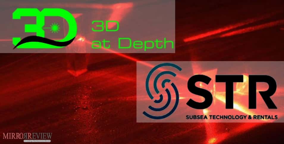 3D at Depth announces partnership Subsea Technology & Rentals