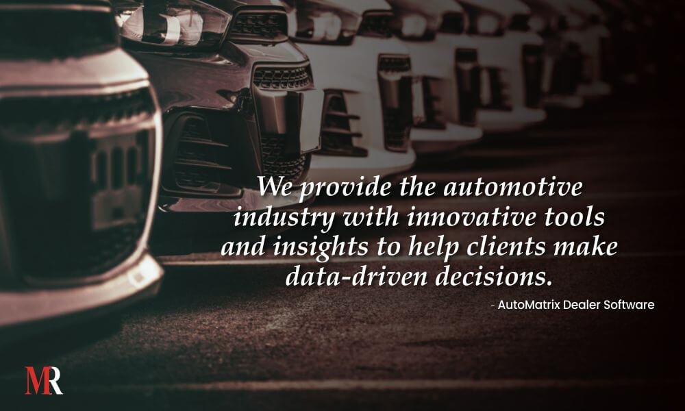 AutoMatrix Dealer Software