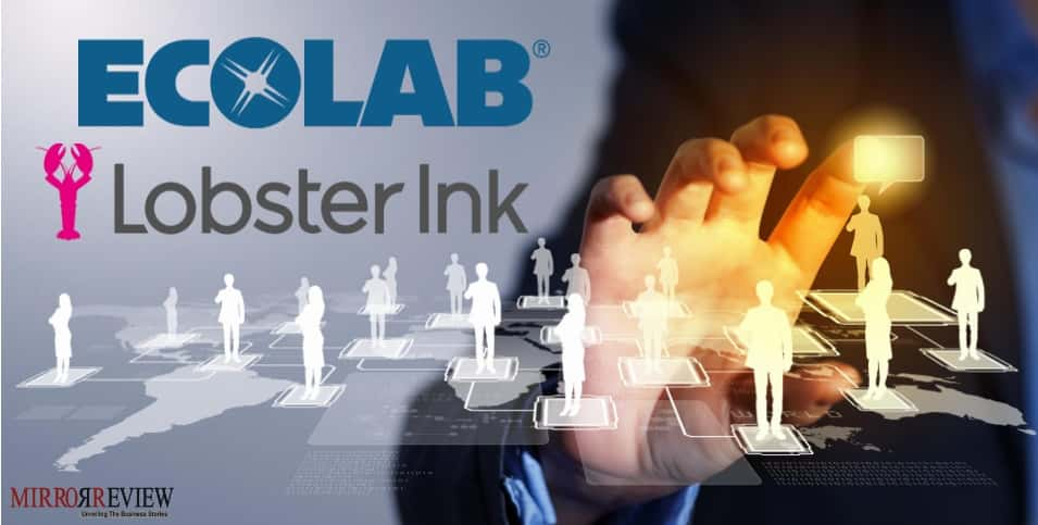 Ecolab acquires Lobster Ink
