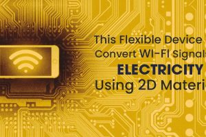 Wi-Fi signals into electricity