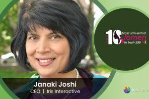 Janaki Joshi CEO at Iris Interactive