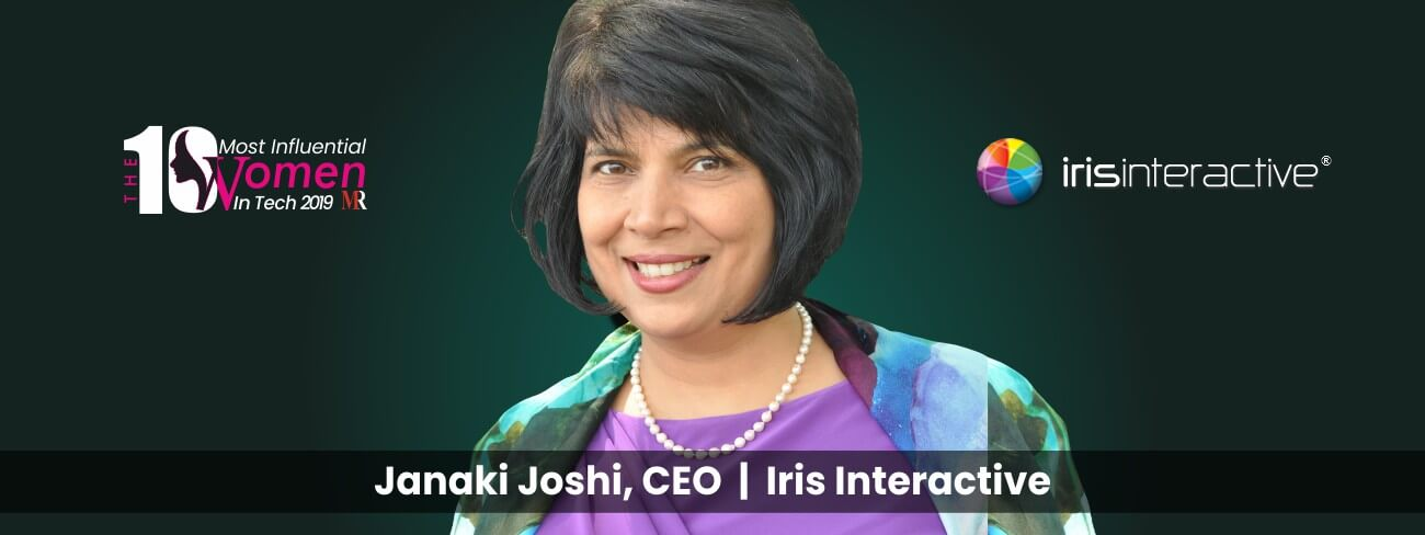 Janaki Joshi CEO at Iris Interactive