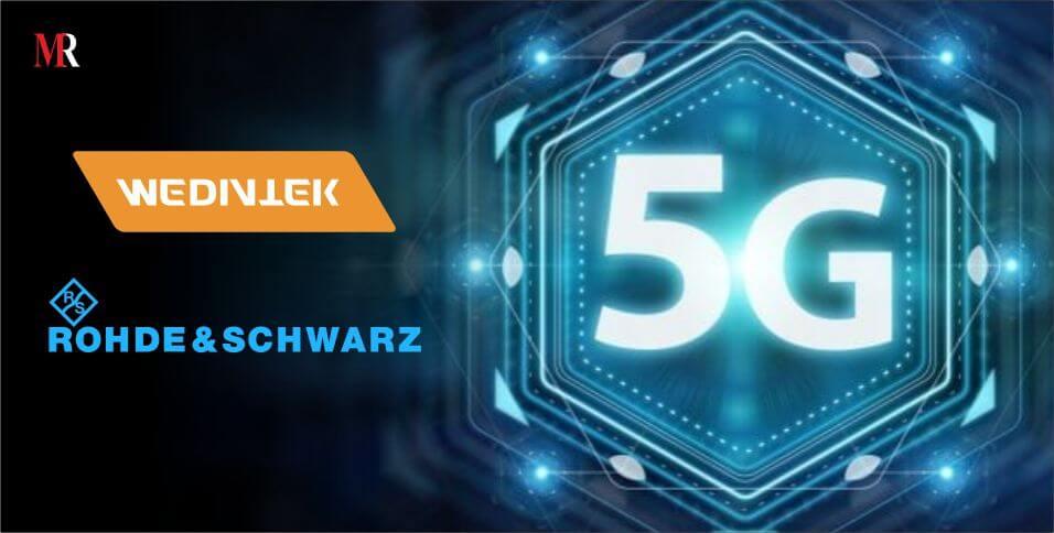 MediaTek Rohde & Schwarz partnership