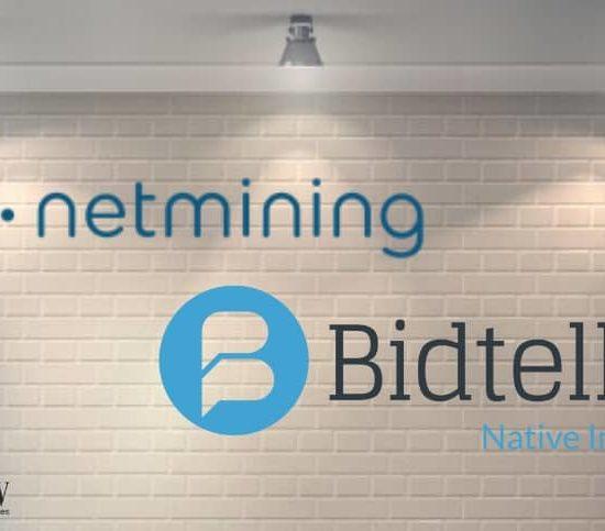 Netmining partners Bidtellect