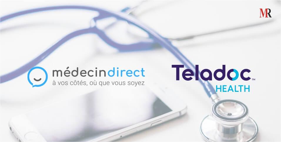 TeladocHealth acquires MedecinDirect