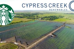 Starbucks and Cypress Creek teams up