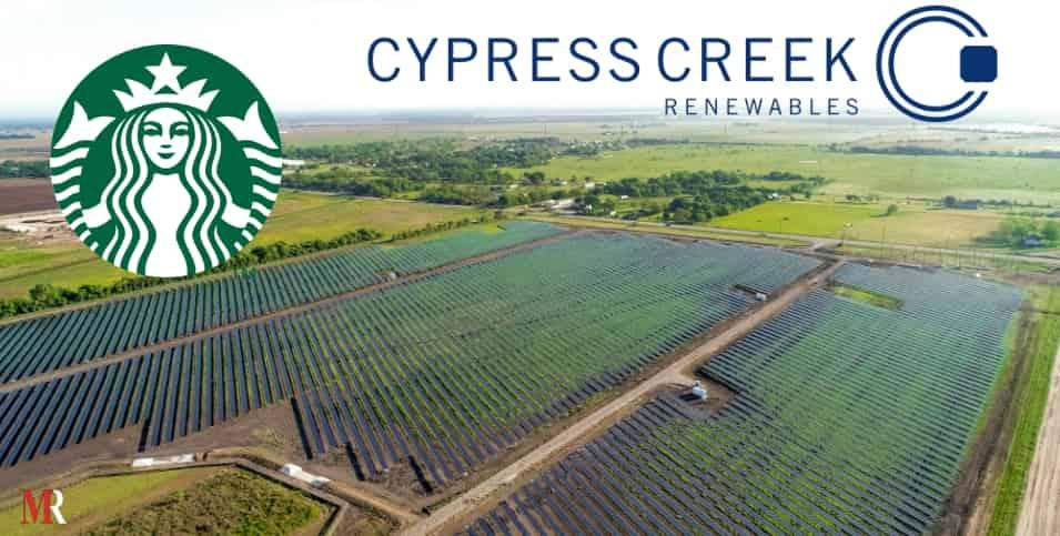 Starbucks and Cypress Creek teams up
