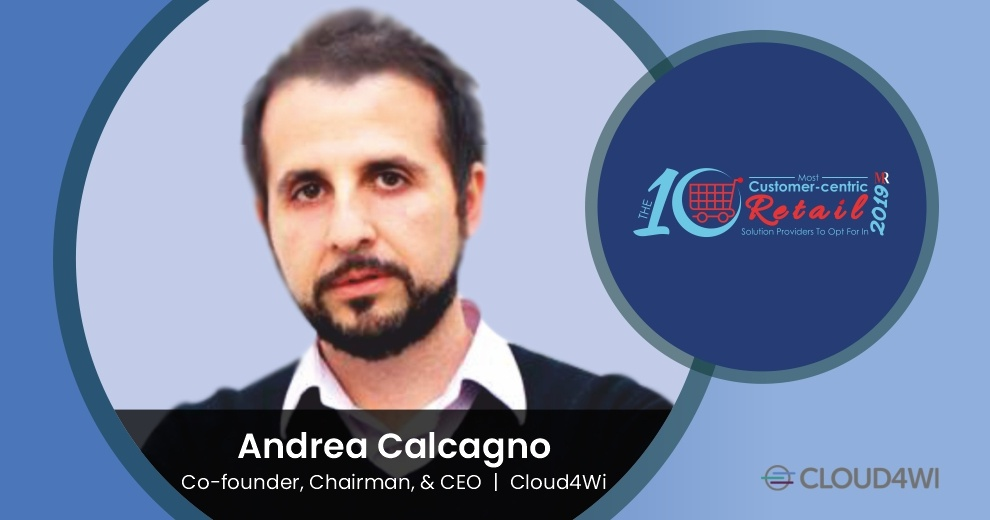 Andrea Calcagno, Co-founder, Chairman & CEO, Cloud4Wi