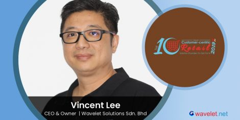 Vincent Lee, CEO & Owner, Wavelet Solutions Sdn. Bhd.