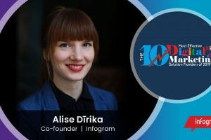 Alise Dirika, Co-founder, Infogram