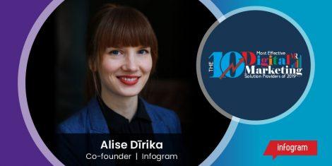 Alise Dirika, Co-founder, Infogram