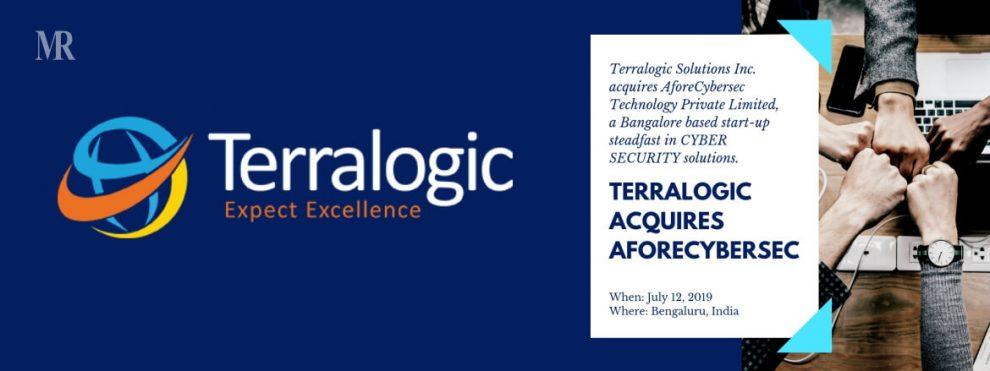Terralogic Solutions Inc. acquires AforeCybersec