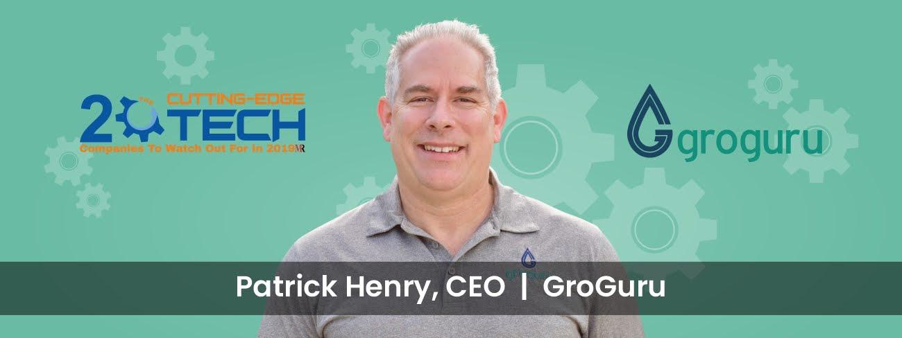 Patrick Henry founded GroGuru to solve farmers problem