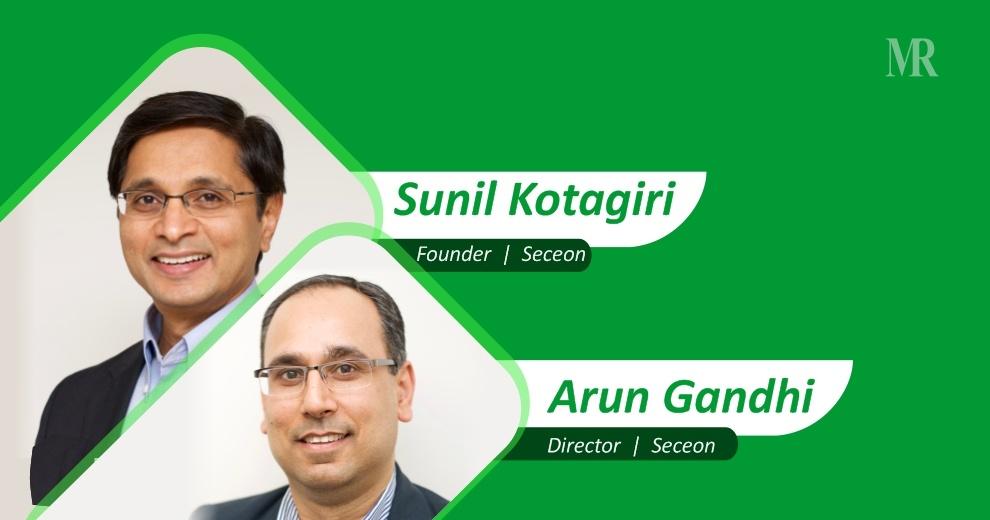 Arun Gandhi and Sunil Kotagiri