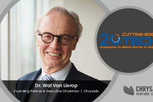 Dr. Wal Van Lierop : Building Commercialize Innovations For Resource Intensive Industries