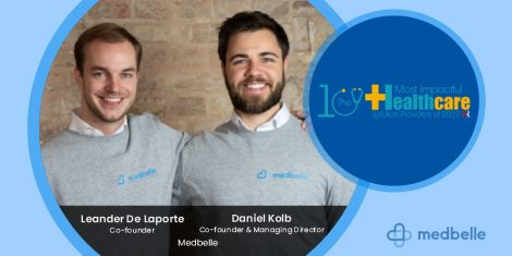 Leander De Laporte and Daniel Kolb are founder of Medbelle