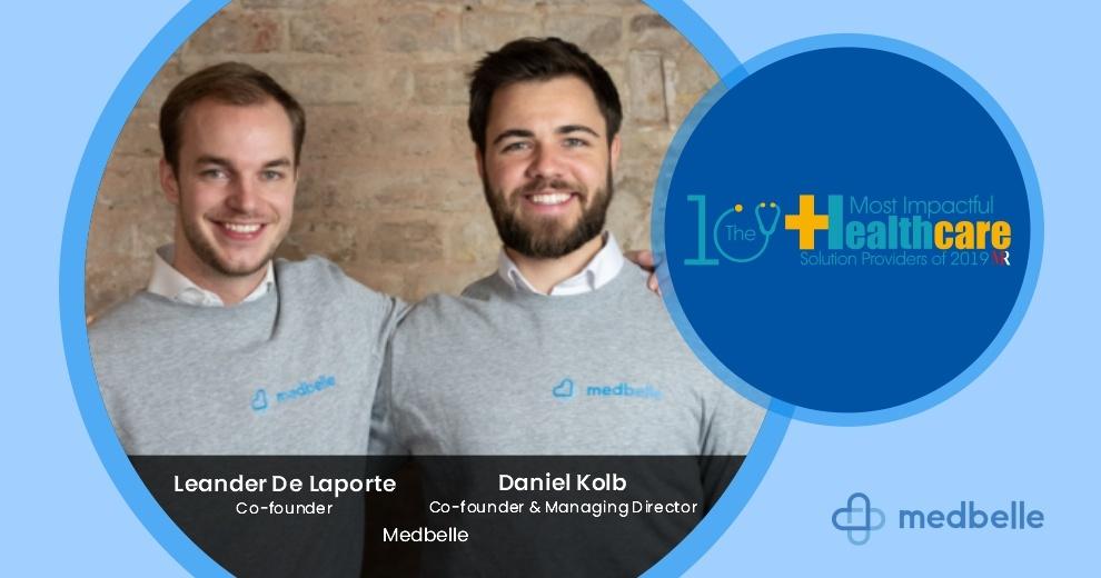 Leander De Laporte and Daniel Kolb are founder of Medbelle